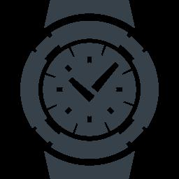 腕時計のフリーアイコン素材 8 商用可の無料 フリー のアイコン素材をダウンロードできるサイト Icon Rainbow