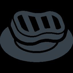 ステーキのアイコン素材 1 商用可の無料 フリー のアイコン素材をダウンロードできるサイト Icon Rainbow