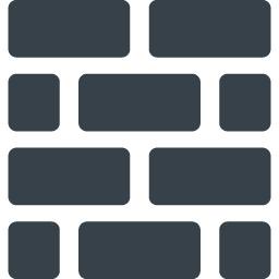 レンガの壁のアイコン素材 商用可の無料 フリー のアイコン素材をダウンロードできるサイト Icon Rainbow