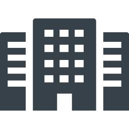 会社 ビルのアイコン素材 3 商用可の無料 フリー のアイコン素材をダウンロードできるサイト Icon Rainbow