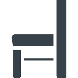横からみた木の椅子のアイコン素材 1 商用可の無料 フリー のアイコン素材をダウンロードできるサイト Icon Rainbow