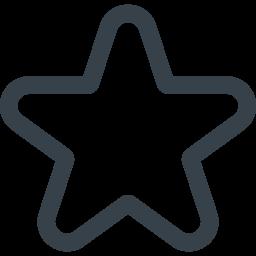 シンプルな星のアイコン素材 5 商用可の無料 フリー のアイコン素材をダウンロードできるサイト Icon Rainbow