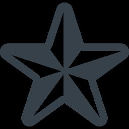 スターのシンボルアイコン素材 6 商用可の無料 フリー のアイコン素材をダウンロードできるサイト Icon Rainbow