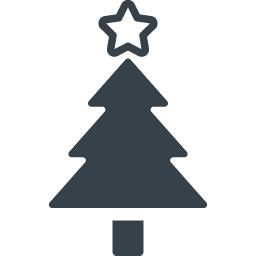 クリスマスツリーの無料アイコン素材 2 商用可の無料 フリー のアイコン素材をダウンロードできるサイト Icon Rainbow