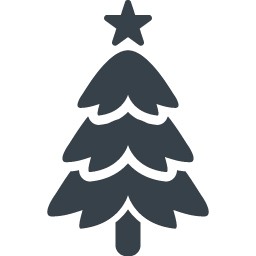 クリスマスツリーの無料アイコン素材 4 商用可の無料 フリー のアイコン素材をダウンロードできるサイト Icon Rainbow