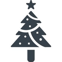 クリスマスツリーの無料アイコン素材 6 商用可の無料 フリー のアイコン素材をダウンロードできるサイト Icon Rainbow