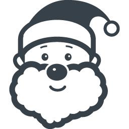 サンタクロースの無料アイコン素材 1 商用可の無料 フリー のアイコン素材をダウンロードできるサイト Icon Rainbow