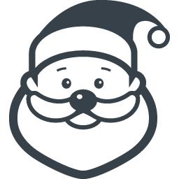 サンタクロースの無料アイコン素材 3 商用可の無料 フリー のアイコン素材をダウンロードできるサイト Icon Rainbow