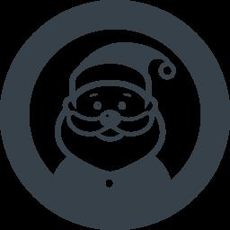 サンタクロースの無料アイコン素材 6 商用可の無料 フリー のアイコン素材をダウンロードできるサイト Icon Rainbow