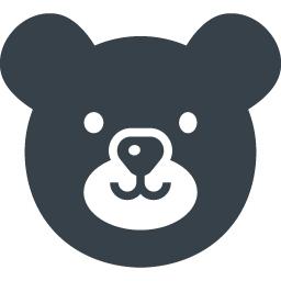 かわいいクマの無料アイコン素材 3 商用可の無料 フリー のアイコン素材をダウンロードできるサイト Icon Rainbow
