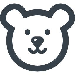白くまの無料アイコン素材 2 商用可の無料 フリー のアイコン素材をダウンロードできるサイト Icon Rainbow