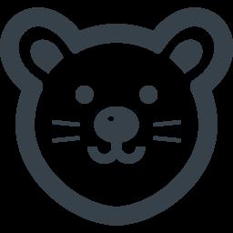 ねずみの無料アイコン素材 1 商用可の無料 フリー のアイコン素材をダウンロードできるサイト Icon Rainbow