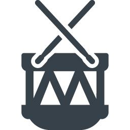 ドラムとステックの無料アイコン素材 商用可の無料 フリー のアイコン素材をダウンロードできるサイト Icon Rainbow