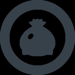 ゴミ袋の無料アイコン素材 2 商用可の無料 フリー のアイコン素材をダウンロードできるサイト Icon Rainbow