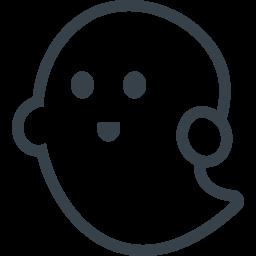 おばけのフリーアイコン素材 1 商用可の無料 フリー のアイコン素材をダウンロードできるサイト Icon Rainbow