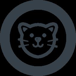 ネコの無料アイコン素材 3 商用可の無料 フリー のアイコン素材をダウンロードできるサイト Icon Rainbow