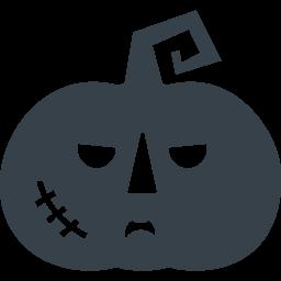 ハロウィン ちょい悪のカボチャアイコン素材 2 商用可の無料 フリー のアイコン素材をダウンロードできるサイト Icon Rainbow