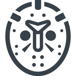 ジェイソンの仮面のフリーアイコン素材 1 商用可の無料 フリー のアイコン素材をダウンロードできるサイト Icon Rainbow