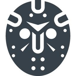 ジェイソンの仮面のフリーアイコン素材 2 商用可の無料 フリー のアイコン素材をダウンロードできるサイト Icon Rainbow
