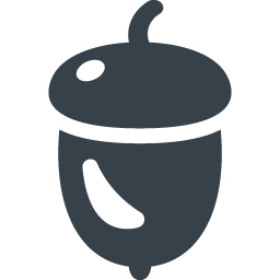 どんぐりの無料アイコン素材 1 商用可の無料 フリー のアイコン素材をダウンロードできるサイト Icon Rainbow