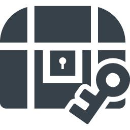 宝箱のフリーアイコン素材 2 商用可の無料 フリー のアイコン素材をダウンロードできるサイト Icon Rainbow