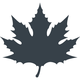 秋のカエデの葉の無料アイコン 1 商用可の無料 フリー のアイコン素材をダウンロードできるサイト Icon Rainbow