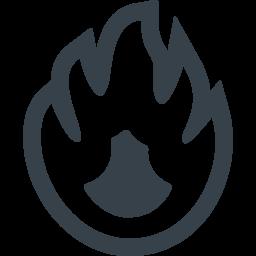 火のマークの無料アイコン素材 4 商用可の無料 フリー のアイコン素材をダウンロードできるサイト Icon Rainbow