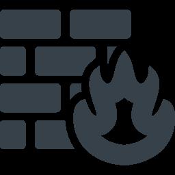 ファイヤーウォールの無料アイコン素材 商用可の無料 フリー のアイコン素材をダウンロードできるサイト Icon Rainbow