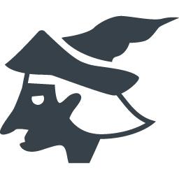 魔女の横顔の無料アイコン素材 2 商用可の無料 フリー のアイコン素材をダウンロードできるサイト Icon Rainbow