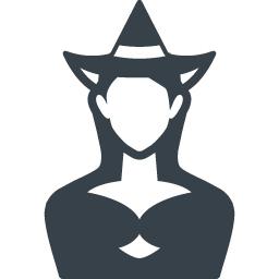 魔女のフリーアイコン素材 商用可の無料 フリー のアイコン素材をダウンロードできるサイト Icon Rainbow