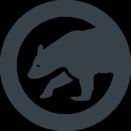 クマのシルエットフリーアイコン素材 2 商用可の無料 フリー のアイコン素材をダウンロードできるサイト Icon Rainbow