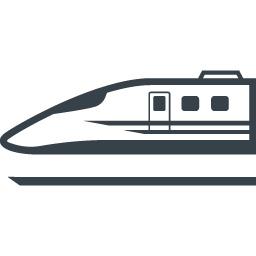 新幹線の無料アイコン素材 4 商用可の無料 フリー のアイコン素材をダウンロードできるサイト Icon Rainbow