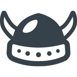 バイキングの兜の無料アイコン素材 2 商用可の無料 フリー のアイコン素材をダウンロードできるサイト Icon Rainbow