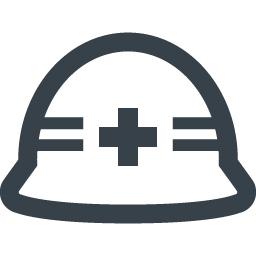 工事用の安全ヘルメットの無料アイコン素材 1 商用可の無料 フリー のアイコン素材をダウンロードできるサイト Icon Rainbow