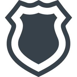 セキュリティの盾のアイコン素材 商用可の無料 フリー のアイコン素材をダウンロードできるサイト Icon Rainbow