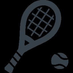 テニスラケットの無料アイコン素材 2 商用可の無料 フリー のアイコン素材をダウンロードできるサイト Icon Rainbow