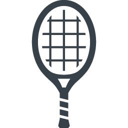 テニス バドミントンのラケットの無料アイコン素材 1 商用可の無料 フリー のアイコン素材をダウンロードできるサイト Icon Rainbow