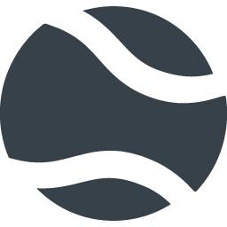 テニスボールの無料アイコン素材 1 商用可の無料 フリー のアイコン素材をダウンロードできるサイト Icon Rainbow