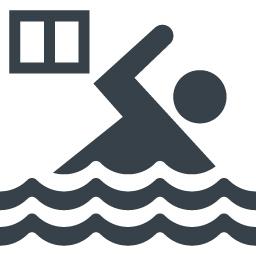 施設 屋内プールの無料アイコン素材 1 商用可の無料 フリー のアイコン素材をダウンロードできるサイト Icon Rainbow