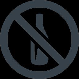 飲酒禁止マークの無料アイコン素材 1 商用可の無料 フリー のアイコン素材をダウンロードできるサイト Icon Rainbow