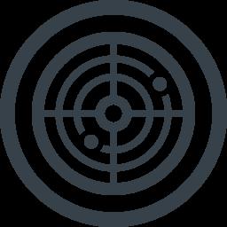 レーダーの無料アイコン素材 1 商用可の無料 フリー のアイコン素材をダウンロードできるサイト Icon Rainbow