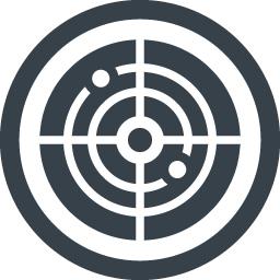 レーダーの無料アイコン素材 2 商用可の無料 フリー のアイコン素材をダウンロードできるサイト Icon Rainbow