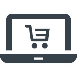 ノートpcでネットショッピングの無料アイコン素材 商用可の無料 フリー のアイコン素材をダウンロードできるサイト Icon Rainbow