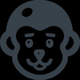 ちょい悪っぽいサルの無料アイコン素材 商用可の無料 フリー のアイコン素材をダウンロードできるサイト Icon Rainbow
