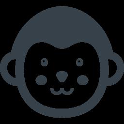 おさるさんの無料アイコン素材 2 商用可の無料 フリー のアイコン素材をダウンロードできるサイト Icon Rainbow