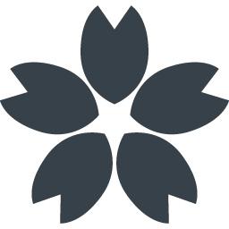 桜の花びらのフリーアイコン素材 1 商用可の無料 フリー のアイコン素材をダウンロードできるサイト Icon Rainbow