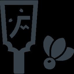 お正月の羽根突きの羽子板のアイコン素材 1 商用可の無料 フリー のアイコン素材をダウンロードできるサイト Icon Rainbow