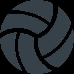 バレーボールの無料アイコン素材 2 商用可の無料 フリー のアイコン素材をダウンロードできるサイト Icon Rainbow