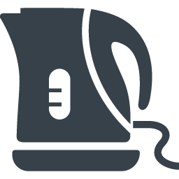 電気ポット 電気ケトルの無料アイコン素材 商用可の無料 フリー のアイコン素材をダウンロードできるサイト Icon Rainbow