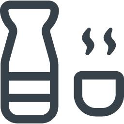 日本酒 熱燗の無料アイコン素材 1 商用可の無料 フリー のアイコン素材をダウンロードできるサイト Icon Rainbow